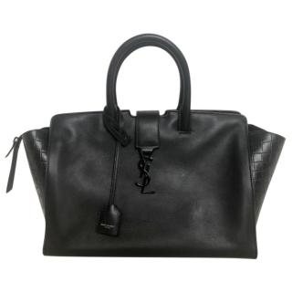 Saint Laurent Small Cabas Leather Bag