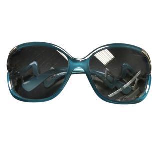 Emilio Pucci blue sunglasses