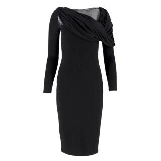Givenchy Black Twist Dress