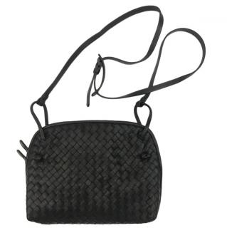 Bottega Veneta Nodini Black Crossbody Bag