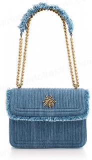 Charlotte Olympia denim shoulder bag