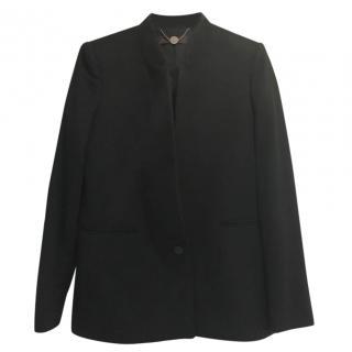 Stella McCartney stand-lapel cashmere coat