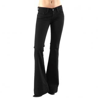 J Brand Black Love Story Bell Bottom Jeans