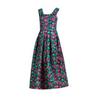 Dolce & Gabbana 'Satin Twill' Fil Coupe Dress