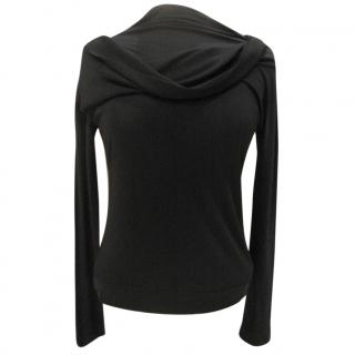 Piazza Sempione black twist top