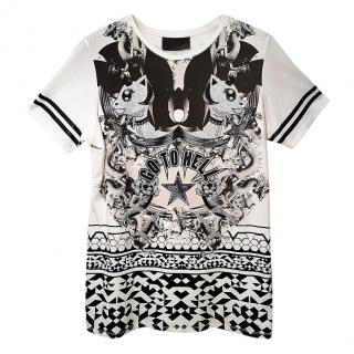 Philipp Plein Monochrome Go To Hell Dress