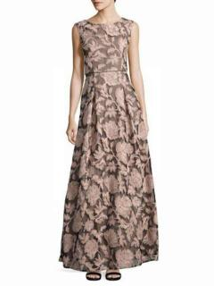 Karl Lagerfeld Sequined Lace Gown