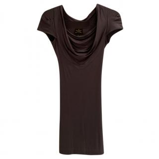 Vivienne Westwood Anglomania Grey Jersey Dress