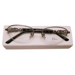 Dior eyeglasses rhinestone CD 7741 EHP TITAN