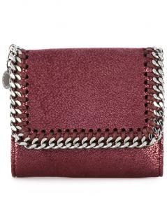 Stella McCartney Falabella Plum Purple Small Wallet