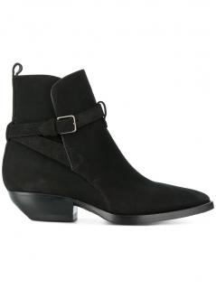 Saint Laurent Theo Suede Ankle boots