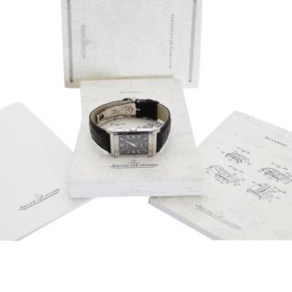 JAEGER LECOULTRE white gold duo face reverso
