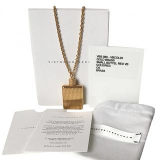Victoria Beckham Bottle Necklace
