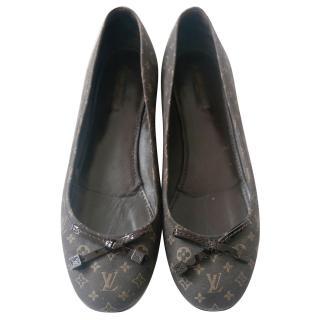 Louis Vuitton Debbie ballerina flat shoes