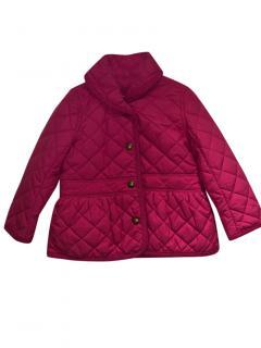 New Ralph Lauren quilted fuchsia jacket