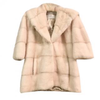 Cesare Furs Nafa Canadian mink fur coat