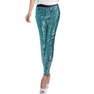 Dolce & Gabbana Sequin Leggings