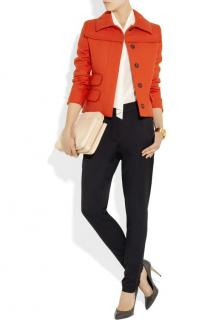 Chloe Tomato Red Jacket