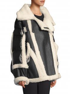 Nicole Benisti Montaigne shearling jacket