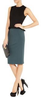 Stella McCartney peplum-waist colour-block dress