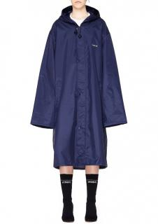 Vetements Navy 'Virgo' Horoscope Raincoat