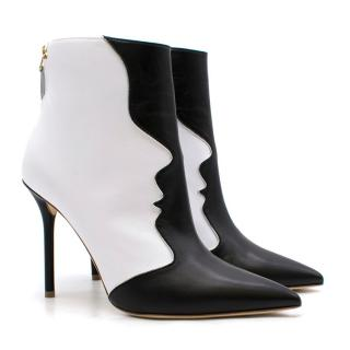 Malone Souliers Camille bi-colour leather ankle boots