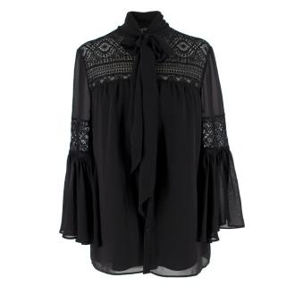 Alice By Alice Temperley Pussybow Blouse