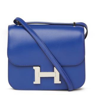 Hermes Constance Tadelakt leather cross-body bag