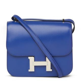 e61ebe53ba7 Hermes Constance Tadelakt leather cross-body bag