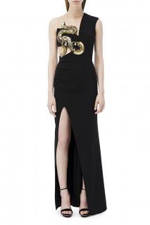 Elisabetta Franchi Snake-Embellished Gown