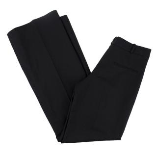 Balmain Wool-blend Wide-Leg Trousers