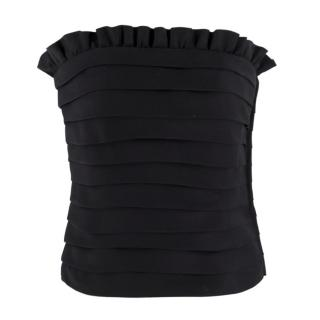 Moschino Pleated Bustier Top