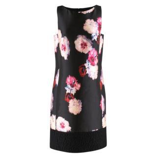 Giambattista Valli floral-jacquard sleeveless shift dress