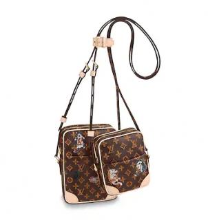 Louis Vuitton Catogram Paname Bag Set