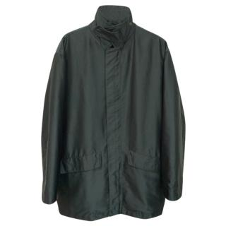 Ermenegildo Zegna Microtene Waterproof Sailing Raincoat