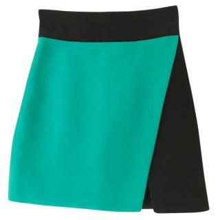 Fausto Puglisi wool mini skirt