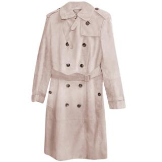 Loewe Leather Trench Coat
