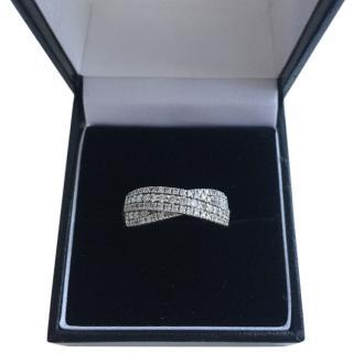Bespoke Diamond and white gold ring