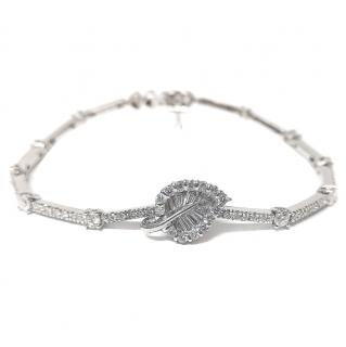 Bespoke 2.30ct diamond and 18ct white-gold Tennis Bracelet