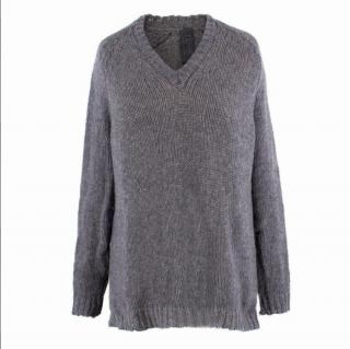 Private 0204 Grey Cashmere Jumper