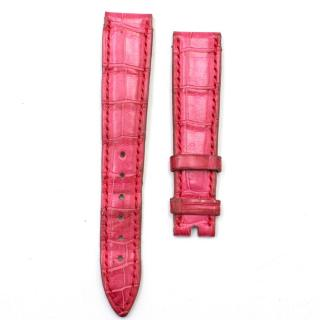Chopard Pink Alligator Leather Watch Strap