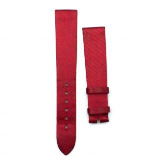 Chopard Red Satin Watch Strap