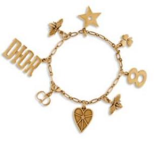 Dior J'adior Charm Bracelet