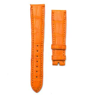 Chopard Orange Alligator Leather Watch Strap