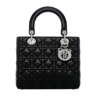 Lady Dior Medium quilted-leather bag