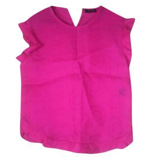 Isabel Marant pink silk top