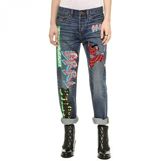 Marc By Marc Jacobs Annie Boyfriend-Fit Jeans