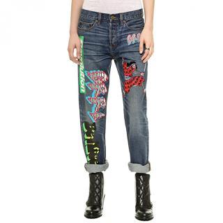 Marc By Marc Jacobs Annie Boyfriend-Fit Jeans