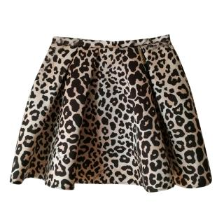 Elizabetta Franchi animal-print mini skirt
