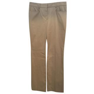 Chloe mid-rise flared trousers